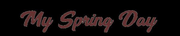 My Spring Day -  防弾少年団 バンタン ファン 情報 ページ  Information Fanpage